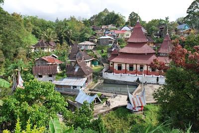 Nagari Tuo Pariangan, West Sumatera,