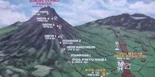 maps gunung kerinci